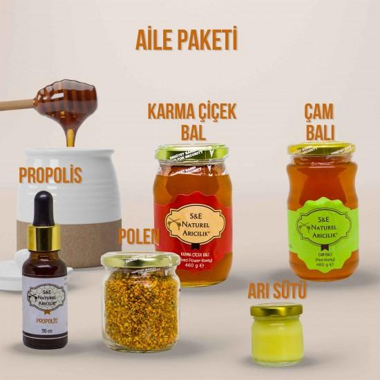 Bal Polen Arı Sütü Propolis -  Aile Paketi