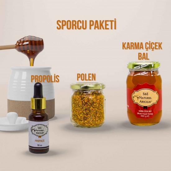 Bal Polen Propolis - Sporcu Paketi